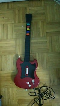 Guitar Hero Red PS2 Controller Working Toronto, M1B 2Y2