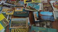 Couple hundred old post cards from the 40's through 70's' Mesa