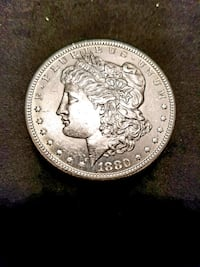 1880 S  UNCIRCULATED MORGAN SILVER DOLLAR Tavares, 32778