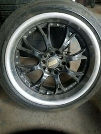 FOR PARTS 3 BBS Rims w/3 Michelin Primacy tires
