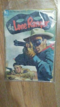 The Lone Ranger comic book Knoxville, 37929