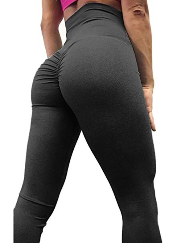 b5370e5eca Used Butt scrunch black yoga pants size M worn once! Too small for ...
