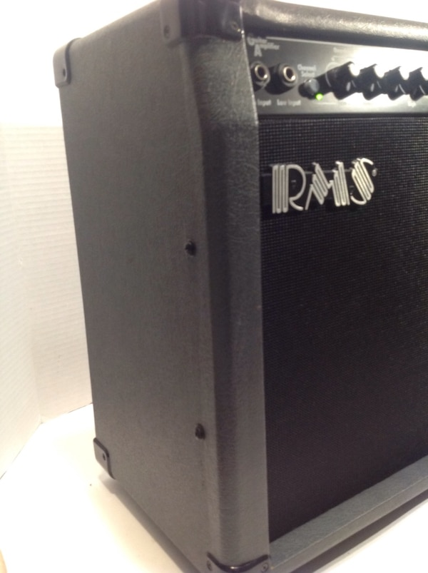 RMS RMSG40 GUITAR AMPLIFIER CLEAN CONDITION READY TO JAM! a6f15ead-96be-4756-9af0-76a4fe7f7913