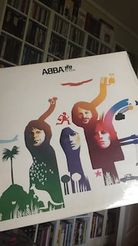 Abba the album på vinyl Jessheim, 2050