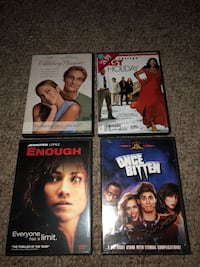four assorted-title movie cases White Plains, 42464