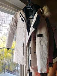 Brand new size small Canada goose grey jacket