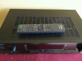 Sony receiver..mint!! Sounds awesome..remote!!