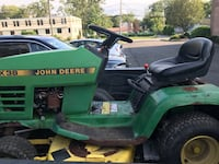 JohnDeer ride on mowers