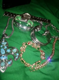 ALL THE JEWELRY SEEN HERE- includes a Geneva watch Irving, 75062