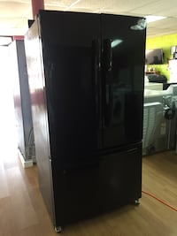 Whirlpool black French door refrigerator  Woodbridge, 22191