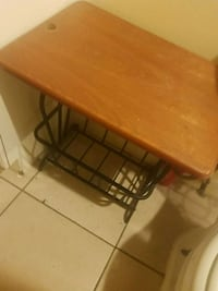 Table for the bathroom
