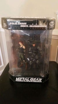 McFarlane Toys Metal Gear Solid: Solid Snake and Meryl Silverburgh Box Old Town Manassas, 20111