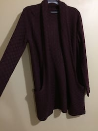 Dark purple Cardigan from Suzy shier  Brampton, L6R 3B7