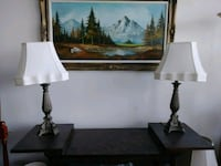 $80 for 2 lamps Toronto, M2M 4L9