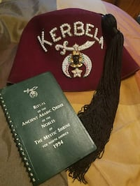 Schriner's Hat and Book