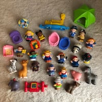 Little People Fisher Price LOT Toys Animals Friends Accessories  419 mi