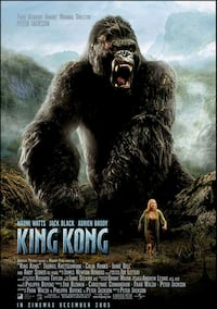 KING KONG MOVIE THEATER POSTER