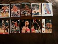 Lot of 10 SCOTTIE PIPPEN Basketball cards  Doyle, 38559