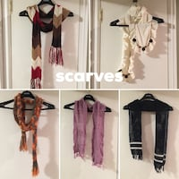 Various scarves, warm and fashion! Toronto, M9A 4R7