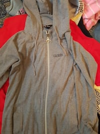 Woman's large guess zip up