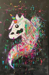 Unicorn Painting Riverdale Park