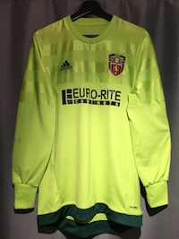 Adidas Soccer Jersey M Florescent Yellow Coquitlam, V3K 3N9