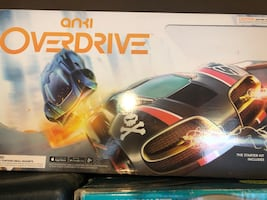 Overdrive  remote control cars (4) and track
