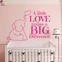 Large baby room wall sticker  Surrey