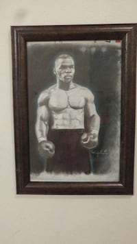 Mike Tyson Charcoal Art Palm Bay, 32908
