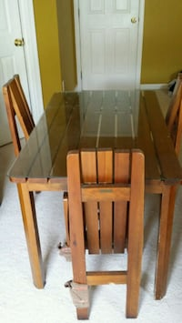 brown wooden dining table set Centreville, 20121