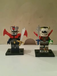 Mazinger z and Voltron minifigures  Simi Valley, 93065