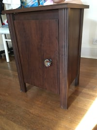 Storage wooden Side Table Baltimore