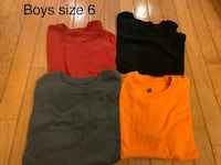 Boys size 6 clothes $20 both pictures