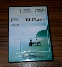 DVD El piano - Jane Campion. PRECINTADO.  Madrid, 28027