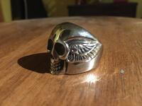 Il Skull & wings 81  bague en stainless