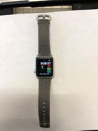 APPLE WATCH SERIES 1 38MM SILVER W/ GENUINE LEATHER WATCH BAND ||LIKE-NEW, UNLOCKED AND READY TO USE Rancho Cucamonga, 91730