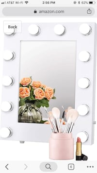 Makeup mirror with LED 1201 mi