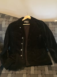 Mexx Black suede  button-up jacket Gaithersburg, 20877