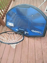 blue and black basketball hoop Chesterfield, 23832