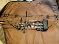 black and gray compound bow Cooperstown, 16317