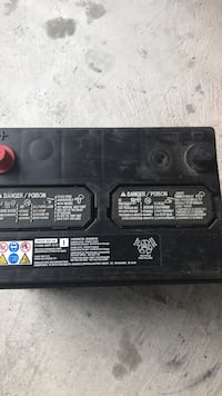 Battery never used