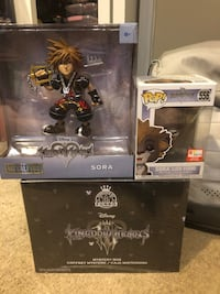 Kingdom Hearts Collectibles (Funko etc) Read Description Brooklyn, 21225