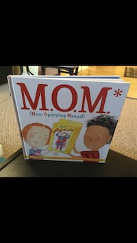 M.O.M. Mom Operating Manual Hardcover Book. Like New Condition 1312 km