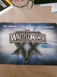 Wrestle Mania Pin Collection 1985-2004 Mississauga, L5N 3L1