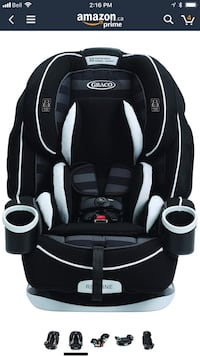 Graco 4Ever All-in-One Convertible Car Seat North Vancouver, V7G