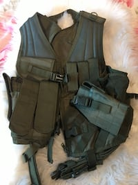 Military Vest I have 2 message me for the other one Delta, V4K