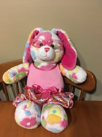 Build a bear bunny with clothes  sings
