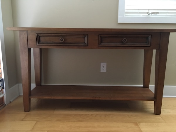 Ethan Allen Sofa Console Table