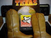 New vintage women's texas brand cowboy boots-size 7 medium Irvington