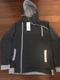 Grey sports hoodie - New . Toronto, M3A 1H4
